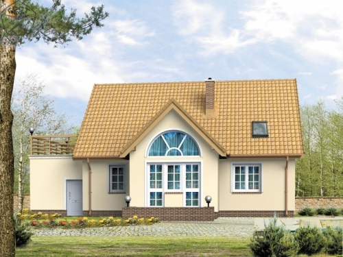 Проект дома м142