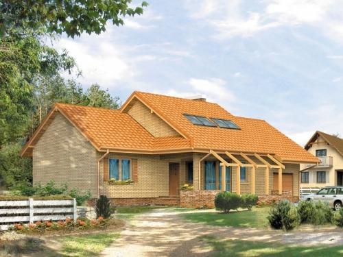 Проект дома м145