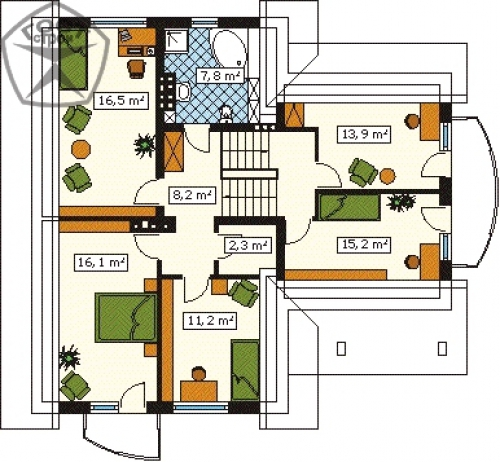 Проект дома м149