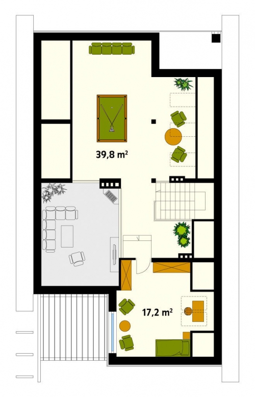 Проект дома м170