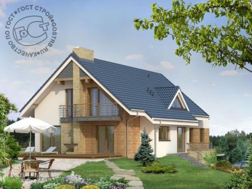 Проект дома м173
