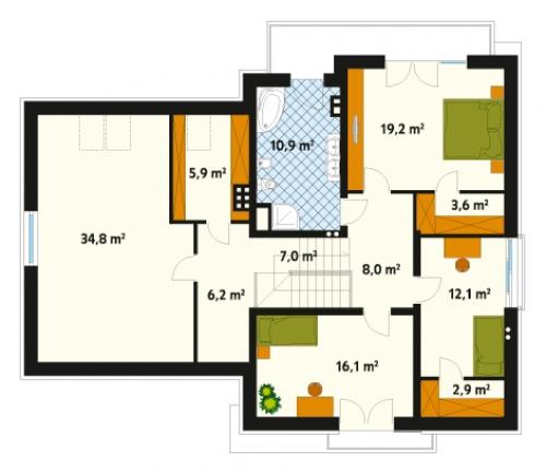 Проект дома м178