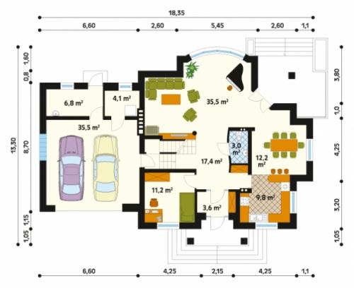 Проект дома м181