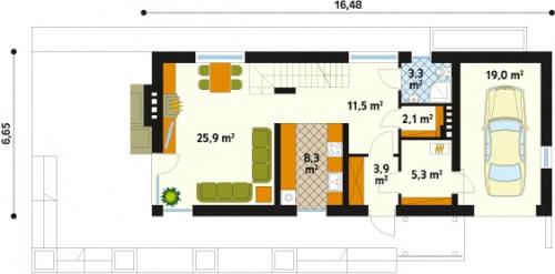 Проект дома м189