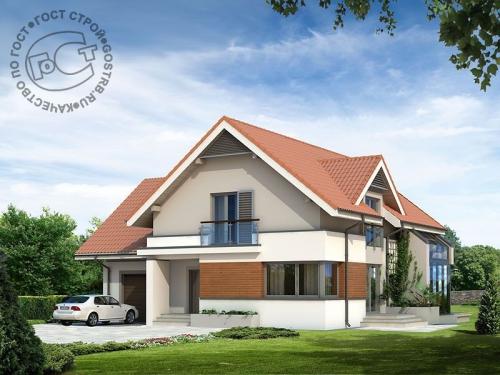 Проект дома м191