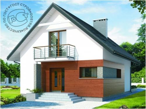 Проект дома м195