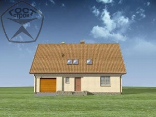 Проект дома м19