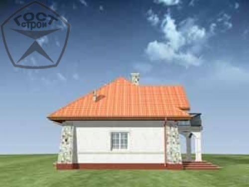 Проект дома м23