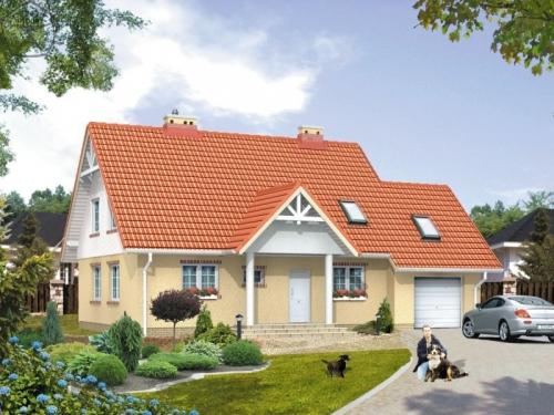 Проект дома м35