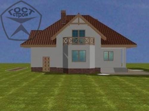 Проект дома м44