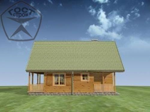 Проект дома м58