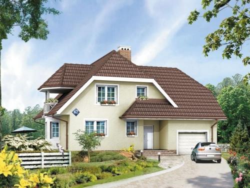 Проект дома м64
