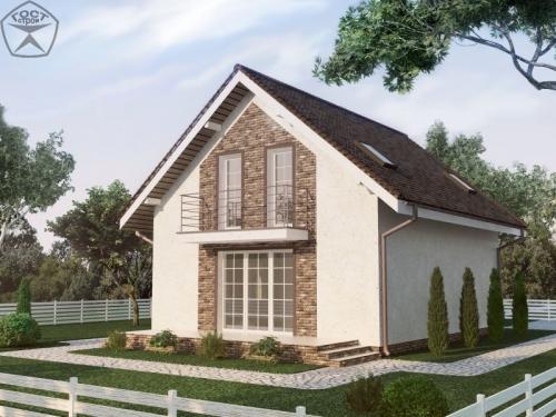 Проект дома м71