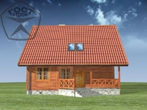 Проект дома м75