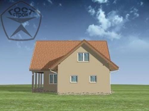 Проект дома м84
