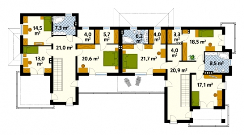 Проект дома д13
