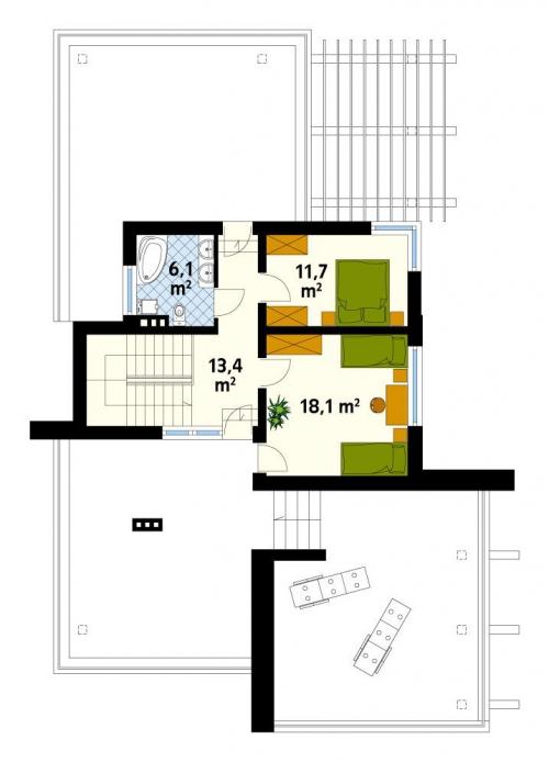 Проект дома д17