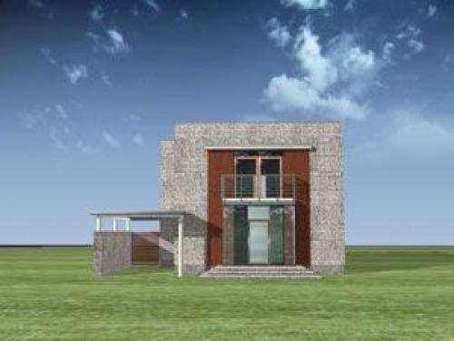 Проект дома д1