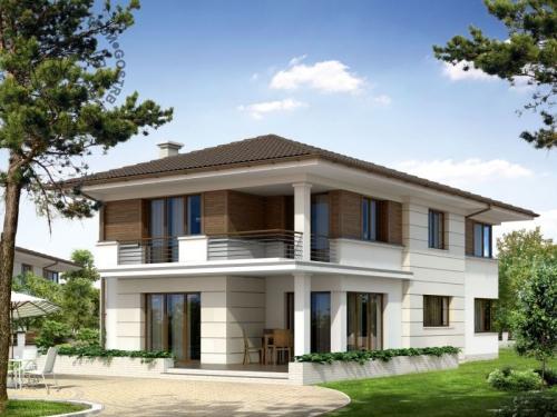 Проект дома д21