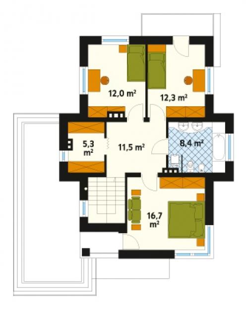 Проект дома д24