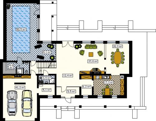 Проект дома д2
