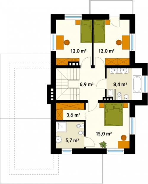 Проект дома д30