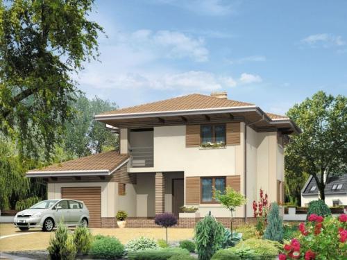 Проект дома д33
