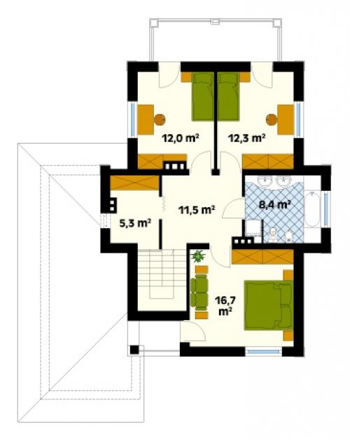 Проект дома д3