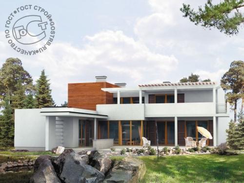 Проект дома д4