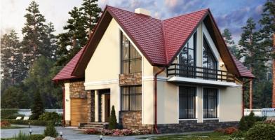 Проект дома м151