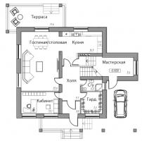 Проект дома м510