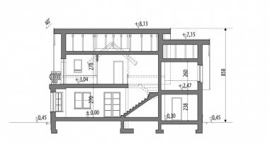 Проект дома м206