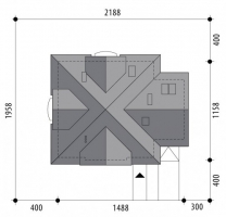Проект дома м300