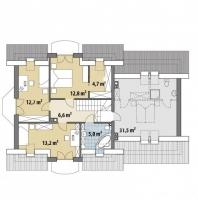 Проект дома м307