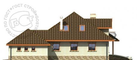 Проект дома м312