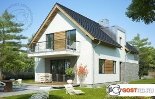 Проект дома м211