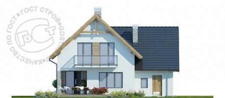 Проект дома м332