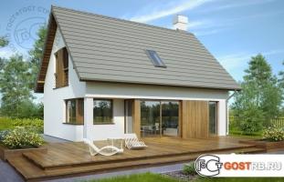Проект дома м334