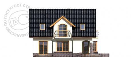 Проект дома м347