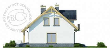 Проект дома м214