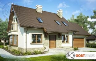 Проект дома м353