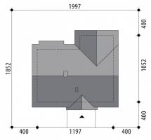 Проект дома м354
