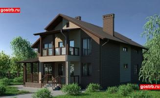 Проект дома м519