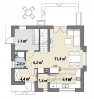 Проект дома м216