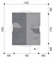 Проект дома м374