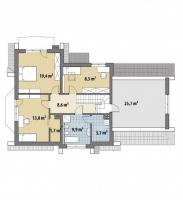 Проект дома м376