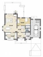 Проект дома м377