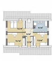 Проект дома м217