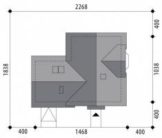 Проект дома м381