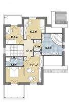 Проект дома м382